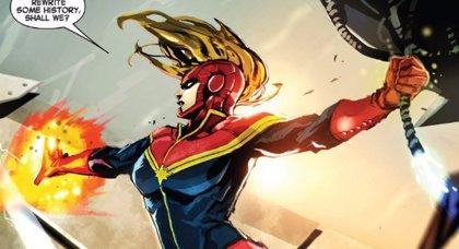 "Infinity War: Kevin Feige avisa que ""Capitana Marvel será el personaje más poderoso de Marvel"""