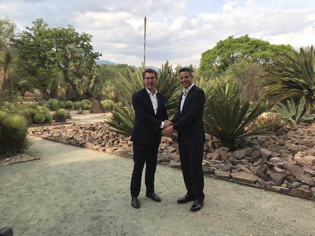 Feijóo se reúne con el gobernador del Estado de Oaxaca