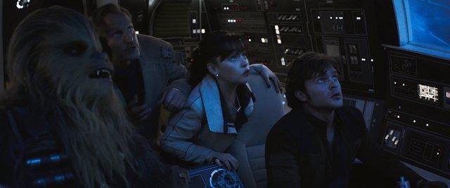 Chewbacca se convierte en copiloto de Han