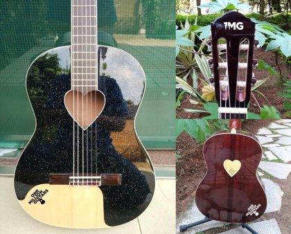 """Un millón de guitarras con """"corazón"""" para cambiar la vida de un millón de niños"""