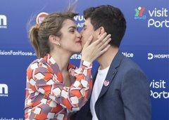Eurovisión: Amaia y Alfred derrochan amor en la fiesta...