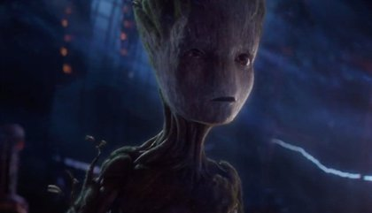 James Gunn desvela qué dice Groot al final de Infinity War