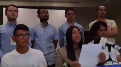 Jóvenes nicaragüenses crean una coalición para dialogar con el gobierno y rechazan la Comisión de la Verdad