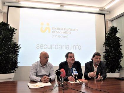 Aspepc·Sps preveu demandar la Generalitat per permetre que mestres de Primària estiguin a l'ESO
