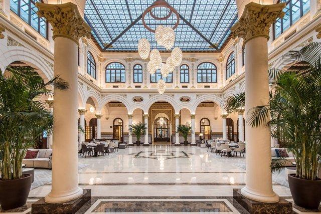 Gran Hotel Miramar Málaga lujo luxury best hotel Santos rehabilitación
