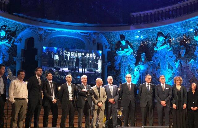 El Puerto de Barcelona recibe el Premio Cerdà