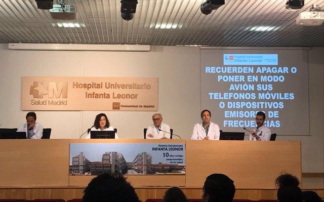 V Jornada de Infección por VIH y Hepatitis C del Hospital Infanta Leonor