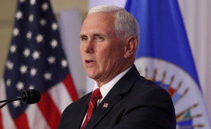 Pence pide a la OEA que suspenda a Venezuela como país miembro