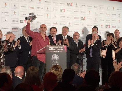 El dramaturgo y director Alfredo Sanzol se alza con el XII Premio Valle-Inclán de Teatro por 'La ternura'