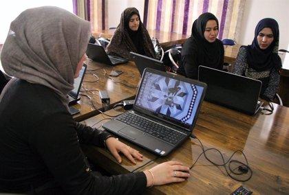 Una veintena de programadoras afganas luchan contra el opio y la desigualdad en el país