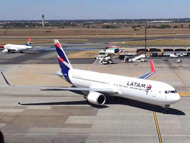 Aviones de LATAM Airlines