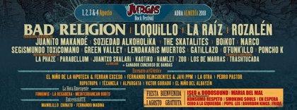 Sorteamos un abono doble para The Juerga's Rock Festival 2018