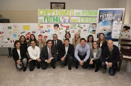 El Colegio Sagrado Corazón de Chamartín acogerá los 44 partidos del Mundial de Fútbol 5 para Ciegos