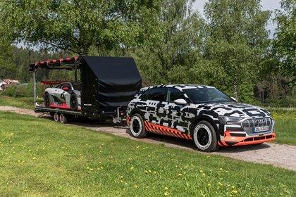 Audi estará en Reifnitz (Austria) con su primer modelo eléctrico, el e-tron prototype