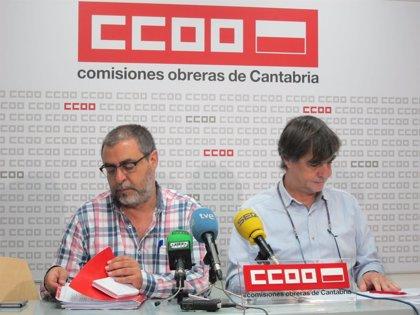 El acuerdo de CCOO con el Gobierno tiene como objetivo que solo haya 3.500 interinos en Cantabria en 2020