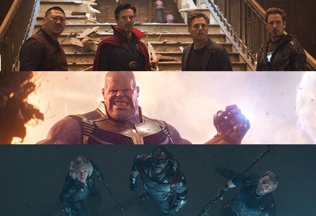 Personajes de Vengadores: Infinity War