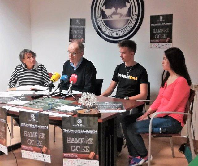 Presentación de Gran Recogida del Banco de Alimentos de Navarra.