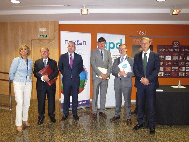 Pimentel ha impartido la conferencia hoy en Ibercaja Patio de la Infanta