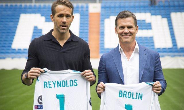 Ryan Reynolds y Josh Brolin en España