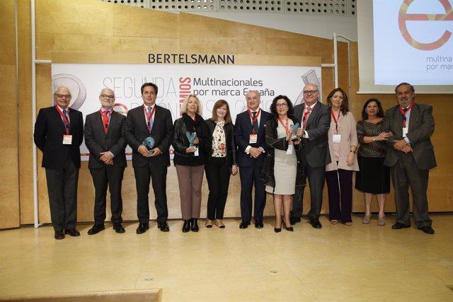 ManpowerGroup, MSD y Fundación Balia, Premios Multinacionales por Marca España R