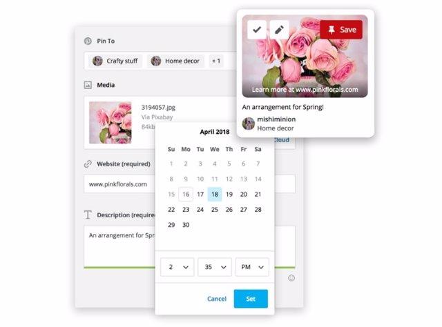 Pinterest se incorpora de forma nativa en Hootsuite