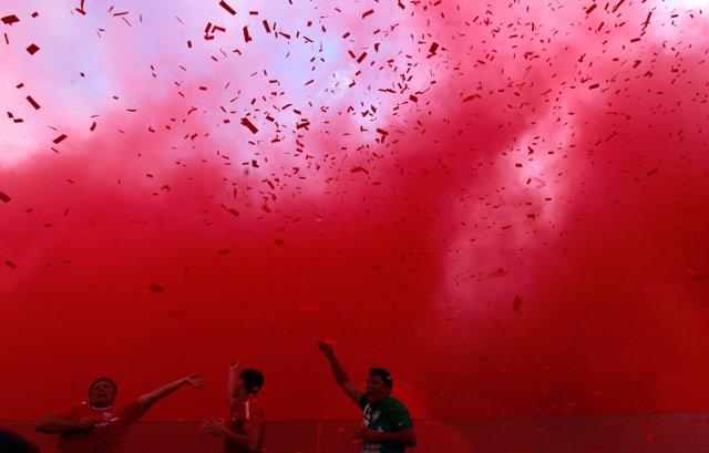 Hinchas del Independiente, fútbol Argentina
