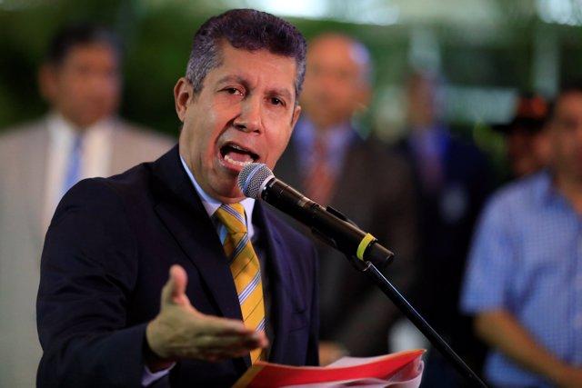 Henri Falcón, candidato a la Presidencia de Venezuela