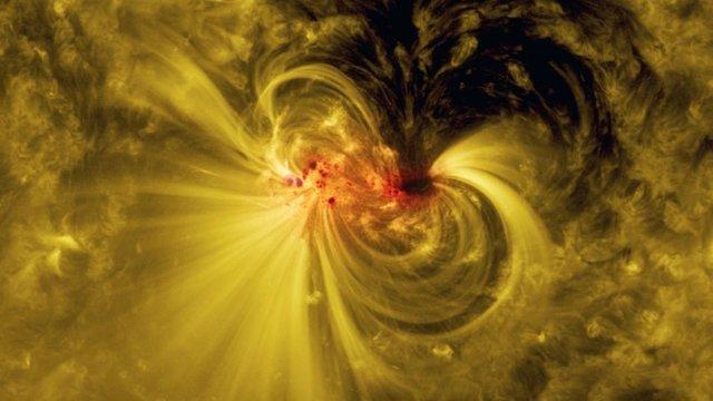 Actividad coronal solar
