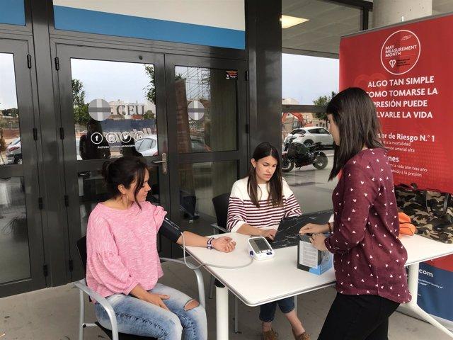 La CEU UCH detectará hipertensión en población valenciana no diagnosticada