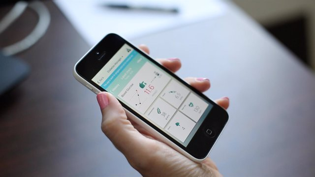 Philips diabetes self-care app