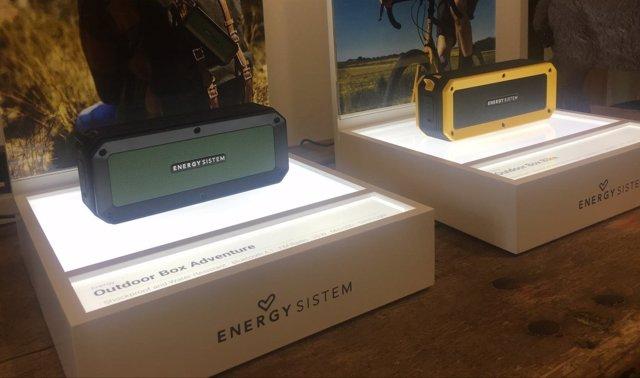 Los altavoces portátiles para exterior Energy Outdoor Box de Energy Sistem