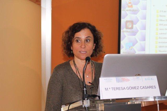 María Teresa Gómez Casares, presidenta del GBMH