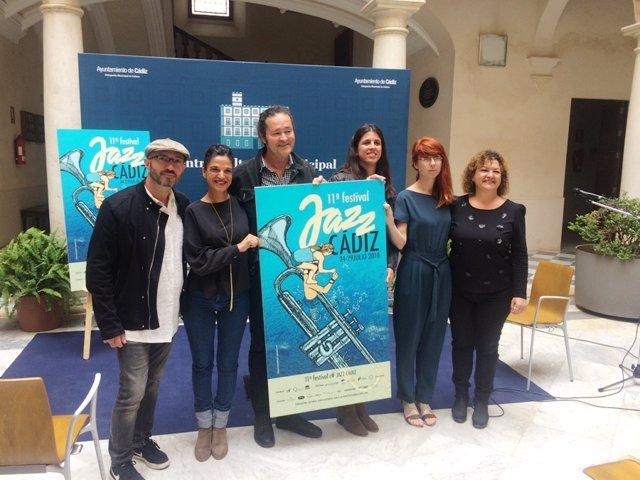 Presentación del Festival JazzCádiz