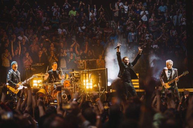 U2 en Tulsa en 2018