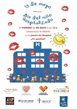 Cartel campaña de NIÑOS CON CÁNCER
