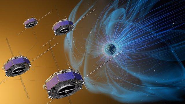 Resultado de imagen de Un satélite de la NASA descubre un nuevo proceso magnético