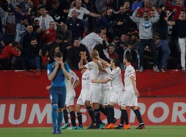 El Sevilla acaba amb un Madrid que només pensa en Kíev (REUTERS)