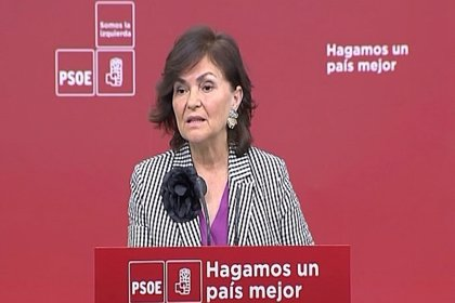 """Calvo (PSOE) precisa que la reforma del Código Penal la """"hará el Congreso y no una comisión llena de hombres"""""""