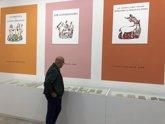 Foto: La edad de oro editorial bonaerense en el Patio Herreriano de Valladolid