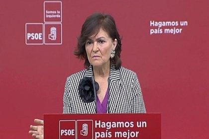 """Carmen Calvo pide castigar a proxenetas y a los clientes de prostitución: """"Los prostíbulos son Guantánamos de cercanía"""""""