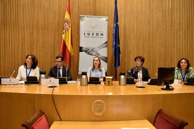 Presentación del informe de la Fundación Luzón sobre ELA en España