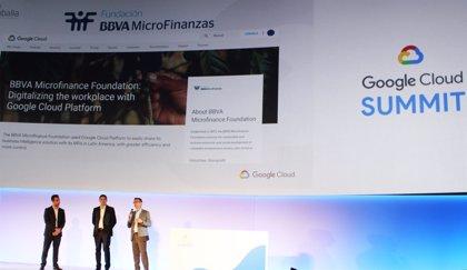 La Fundación Microfinanzas BBVA interviene como caso de éxito en el 'Google Cloud Summit'