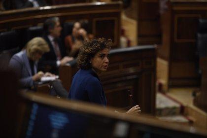 Unidos Podemos lleva a votación al Congreso el cese de Montserrat por no aplicar el Pacto contra la violencia machista