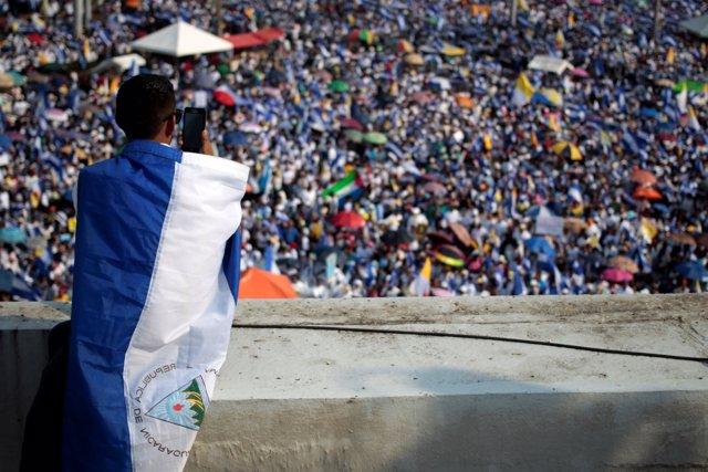 Manifestación en Ncaragua