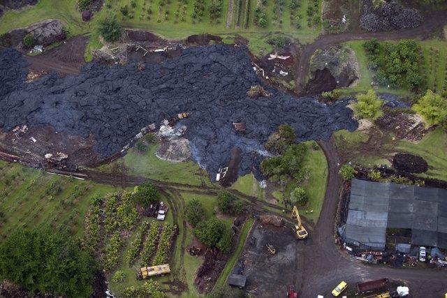El volcán Kilauea amenaza zona residencial en Hawai
