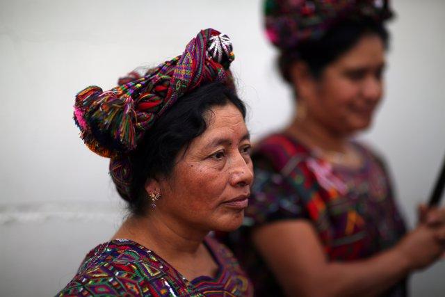 Indígenas guatemaltecos