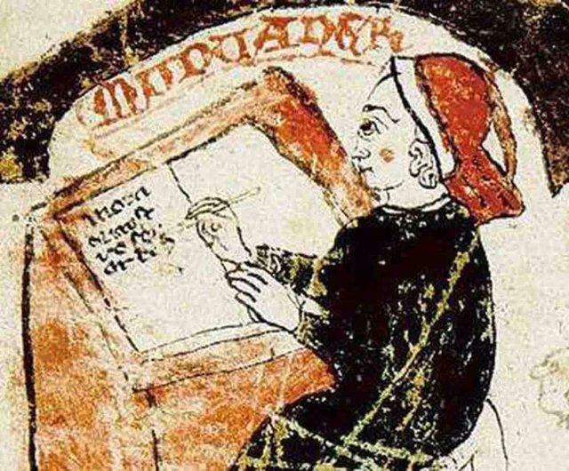Ramon Muntaner en una crónica del siglo XIV