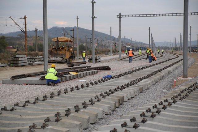 FCC, obras ferroviarias en Rumanía
