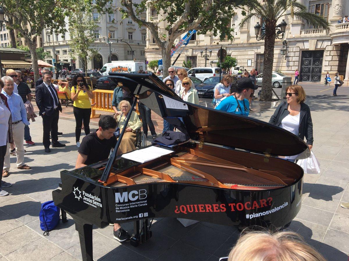 Siete pianos de cola llenan València para romper clichés y barreras  culturales, mentales y sociales
