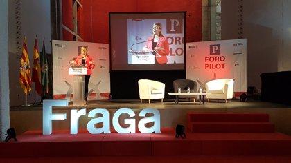 """Gastón apuesta por el """"trabajo en equipo"""" para continuar afianzando la competitividad logística de Fraga"""